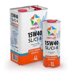 15W-40 SL/CI-4