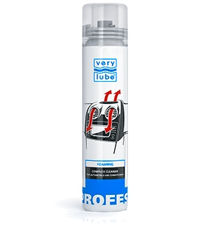 Complex foam cleaner for automobile air conditioners v